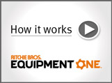 Video about buying equipment and trucks on Ritchie Bros. EquipmentOne