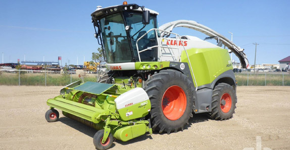 2016 Claas Jaguar 970 RWA forage harvester selling at Ritchie Bros. auctions