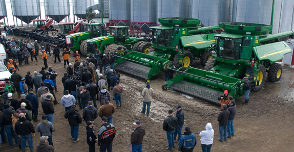 On-the-farm unreserved Ritchie Bros. auction held in Saskatchewan