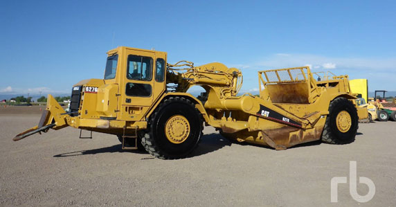 2005 Caterpillar 627G motor scrapers sold by Ritchie Bros.