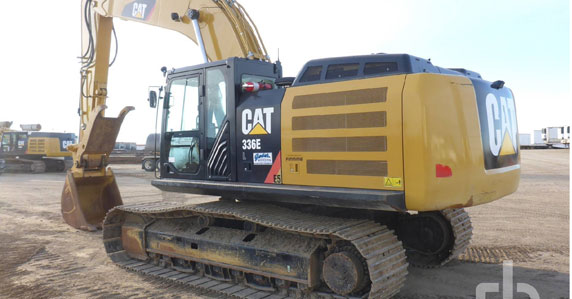 2014 Caterpillar 336EL hydraulic excavator sold by Ritchie Bros.