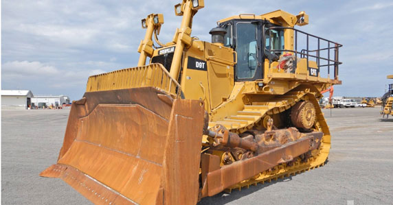 2009 Caterpillar D9T crawler tractor sold by Ritchie Bros.