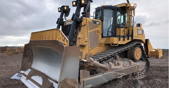 2013 Caterpillar D9T crawler tractor sold by Ritchie Bros.