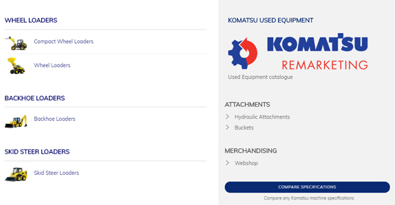 Komatsu Europe selects RB Asset Solutions for online remarketing of used assets.