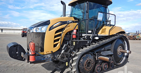 2015 Challenger MT775E track tractor sold by Ritchie Bros.