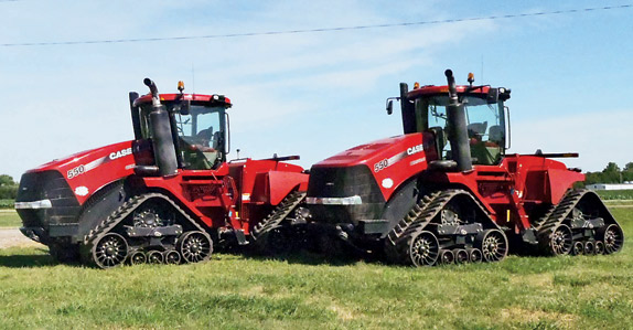 2011 Case IH Steiger 550QT Quadtrac Tractor – sold for USD $275,000 at unreserved auction