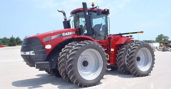 2011 Case IH Steiger 350HD 4WD Tractor – sold for USD $190,000 at unreserved auction